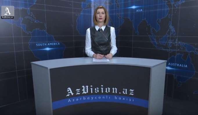 AzVision TV:Die wichtigsten Videonachrichten des Tages auf Englisch (19 März)-VIDEO