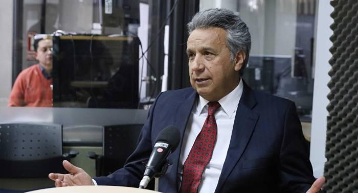 El presidente de Ecuador anuncia la decisión de desmantelar la Secretaría de Inteligencia