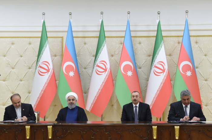 Azərbaycan-İran sənədləri imzalanıb - FOTOLAR (Yenilənib)