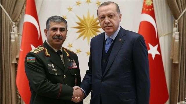 Zakir Hasanov se reunió con Erdogan