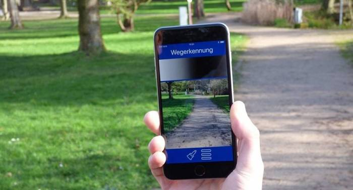 """Blinde können mit Smartphone Hindernisse erkennen: neue App """"Camassia"""""""