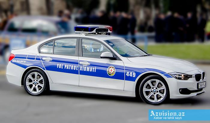 Yol polisi qadın sürücülərə hədiyyə verəcək