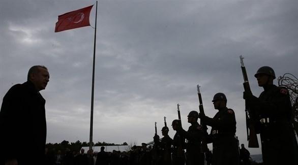 أردوغان يتعهد بتوسيع نطاق الهجوم التركي بسوريا