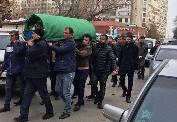Böyükağa Hacıyev son mənzilə yola salınıb