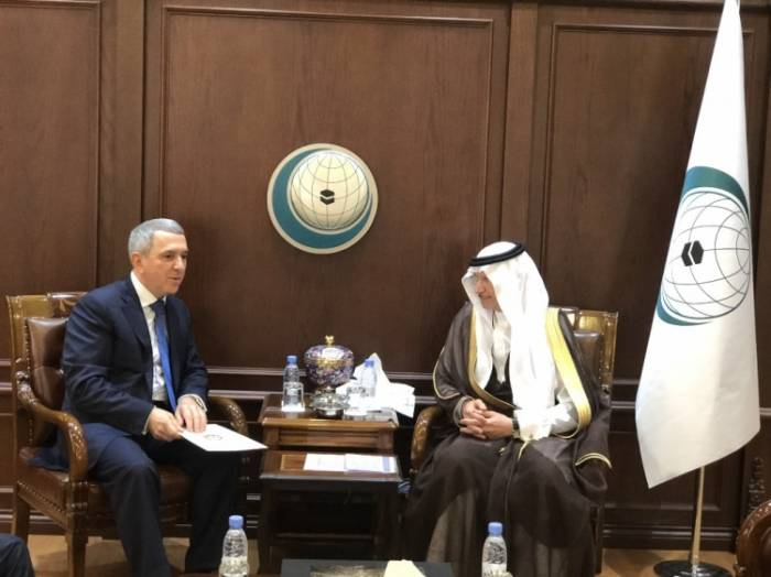 Permanent Representative of Azerbaijan to the OIC Presents Letter of Credence to the Secretary-General