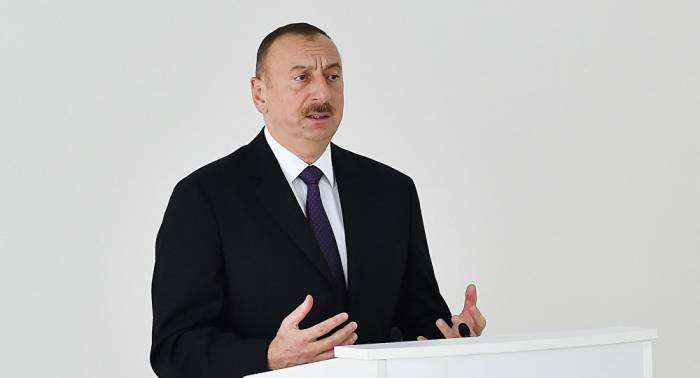 """""""Xarici risklərdən özümüzü qoruyuruq"""" - Prezidentdən mühüm mesajlar"""
