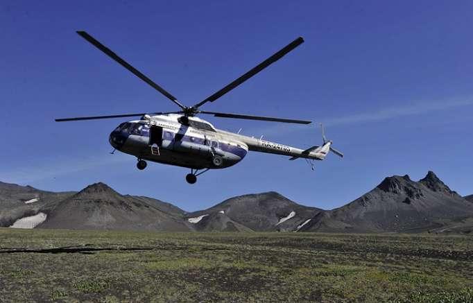 Rusiyada helikopter qəzası: 6 ölü (Yenilənib)