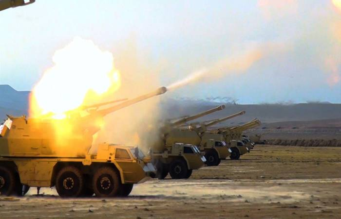 Azerbaijani army holds live-fire stage of large-scale drills - PHOTOS, VIDEO