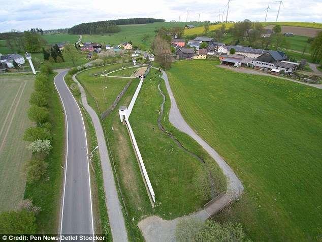 German town Mödlareuth STILL split between East and West