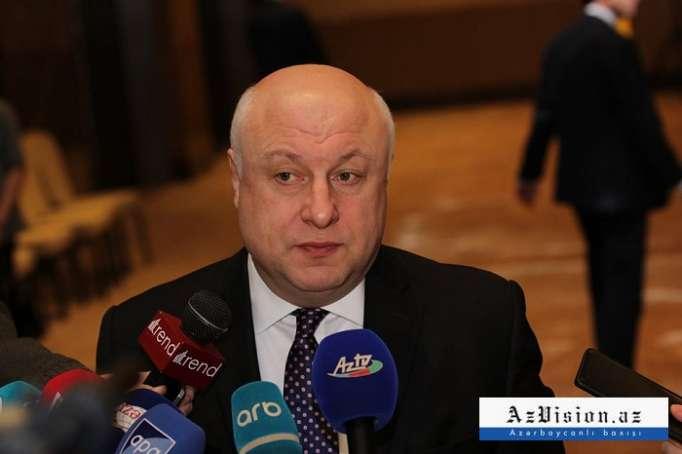 """رئيس الجمعية البرلمانية لمنظمة الأمن والتعاون في أوروبا:""""يجب حل نزاع كاراباخ بسلام"""""""