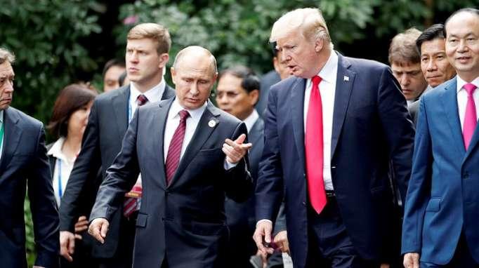 """""""Tramp məndən daha müasir insandır"""" – Putin"""