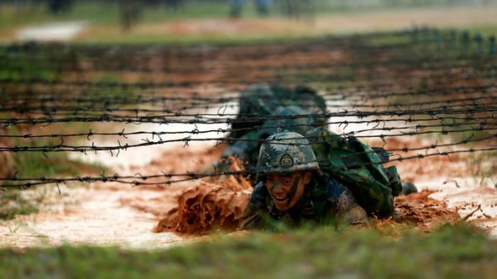 Größte Marineinfanterie-Manöver in Chinas Geschichte begonnen