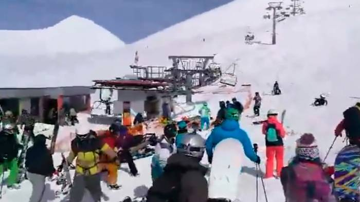 Shocking VIDEO captures horror at Georgian ski resort as cableway speeds out of control