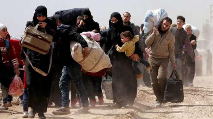11.000 Zivilisten flüchten an einem Tag aus Ost-Ghuta während Feuerpause