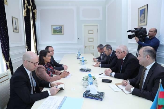 Azerbaijani CEC chairman meets OSCE PA delegation
