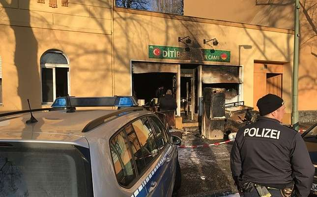 Arson targets Berlin mosque in latest string of PKK, far-right attacks in Germany