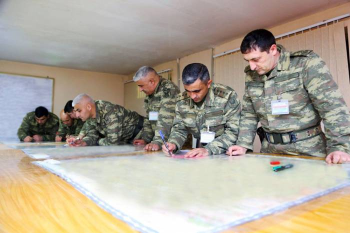 Azerbaijani Armed Forces continue large-scale