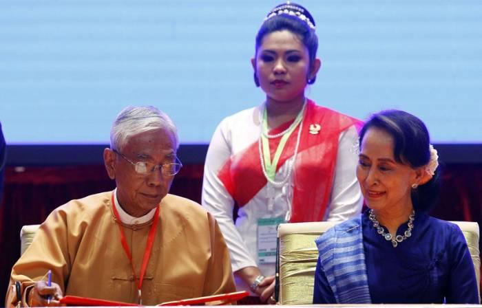 Birmanie: Démission du président Htin Kyaw