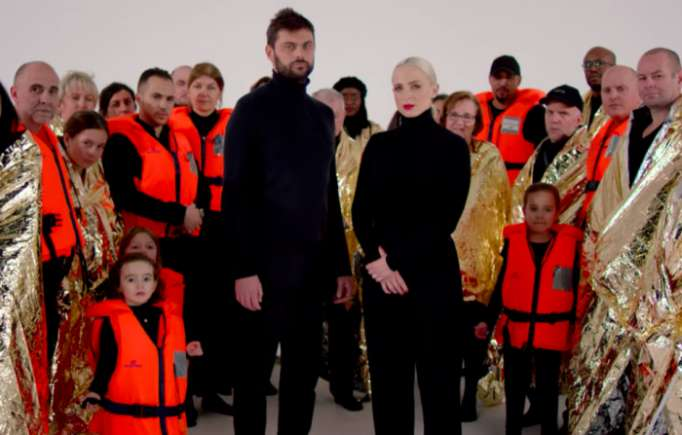 Eurovision: Le clip de la chanson de la France diffuse un message - VIDEO
