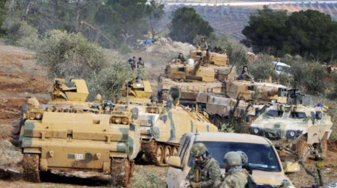 Afrin city center surrounded, says Turkish army