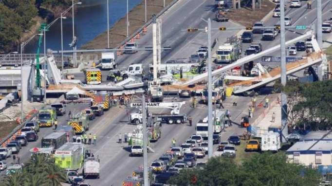 Florida officials knew about bridge crack
