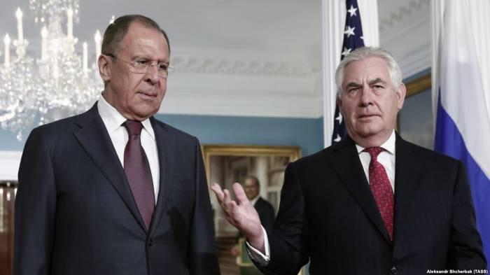 Lavrovla Tillersonun görüşü baş tutmayacaq