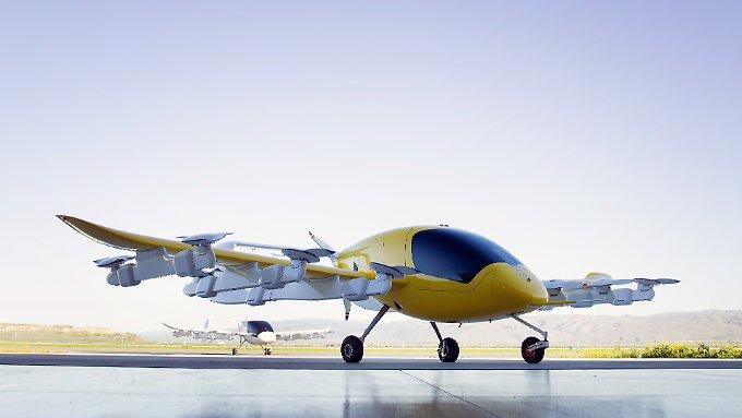Larry Page lüftet Geheimnis um Flugtaxis