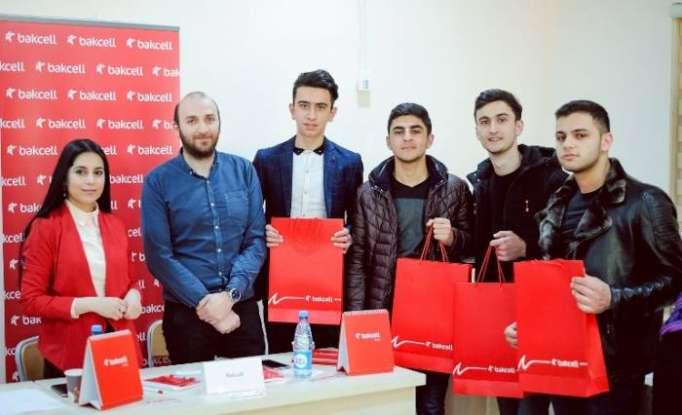 """""""Bakcell"""" daha bir universitetdə əmək yarmarkasına qatılıb"""