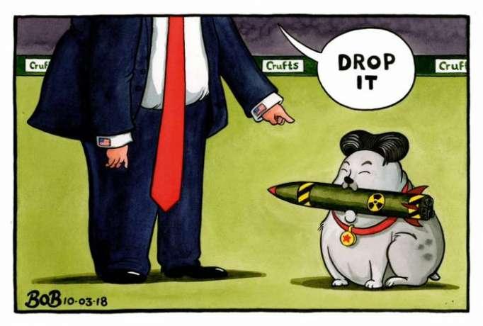 Will North Korea agree to drop its nuclear program? - CARTOON