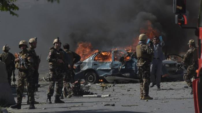 Kabul attack: At least seven dead in suicide bomb blast in Afghan capital