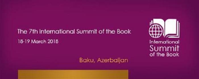 Bakıda Beynəlxalq Kitab Sammiti keçiriləcək