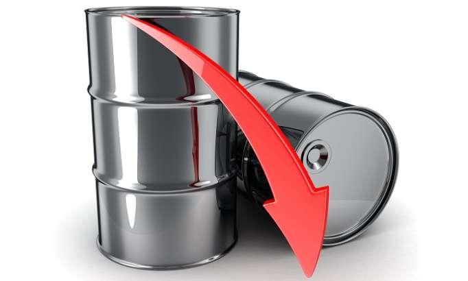 Azerbaijani oil price drops