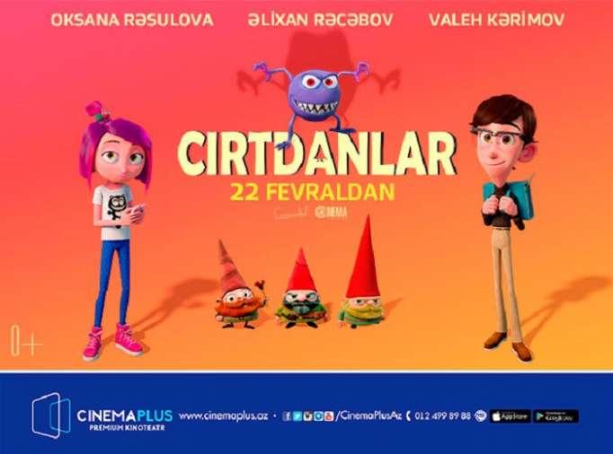 """Kanada animasiya filmi """"CinemaPlus"""" da Azərbaycan dilində - VİDEO"""