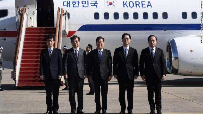 South Korea delegation to propose Pyongyang-Washington talks