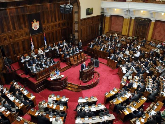 """Serbiya parlamenti qondarma """"erməni soyqırımı""""nı tanımadı"""
