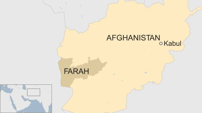 Taliban attacks Afghan soldiers in Farah, killing at least 24