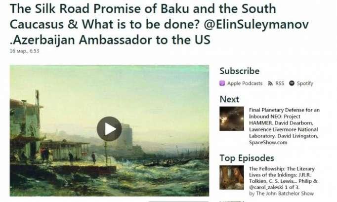ABŞ-ın nüfuzlu radiosunda Azərbaycandan danışıldı