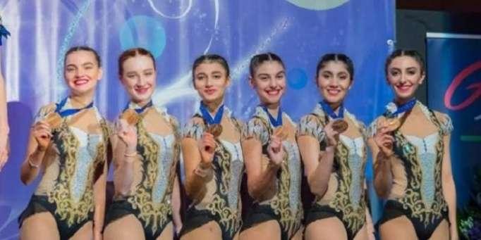 Bədii gimnastlarımız üçüncü oldu