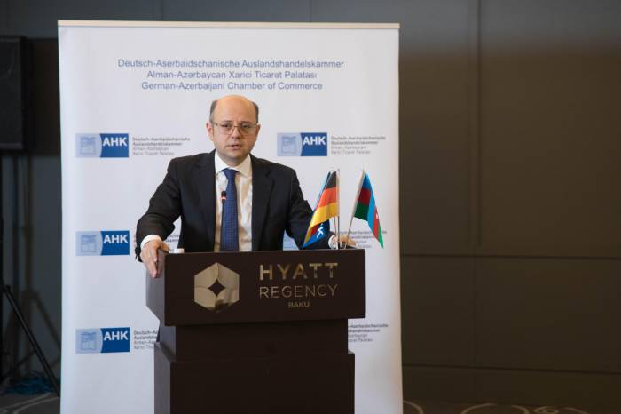 Azerbaijan's energy strategy highlighted at first AHK Impuls of 2018