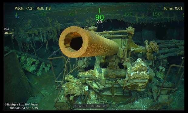 USS Lexington: aircraft carrier scuttled in 1942 is finally found
