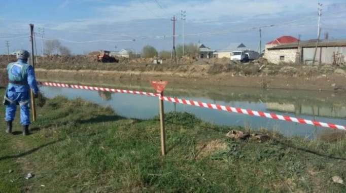 Qarabağ kanalında silah-sursat tapılıb