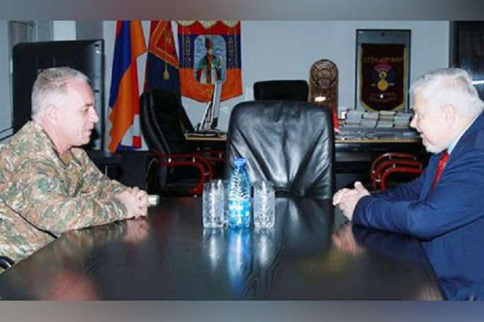 AndrzejKasprzyk holds negotations in Karabakh