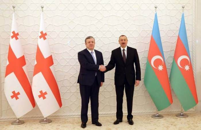 President Ilham Aliyev receives Georgian PM - UPDATED