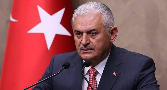 Binali Yildirim a critiqué l