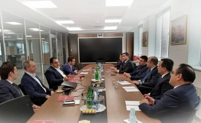 Third meeting of members of Board of Caspian European Club held