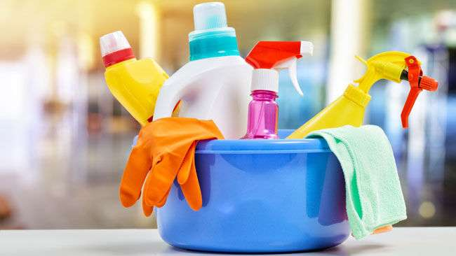 Cleaning products tied to lung function decline in women says new study