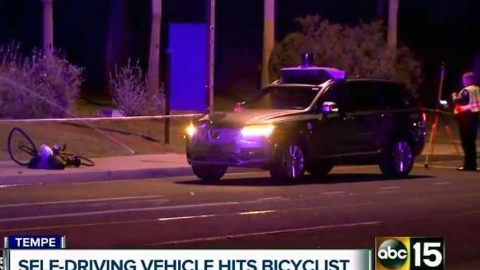 Polizei zweifelt an Schuld von Uber