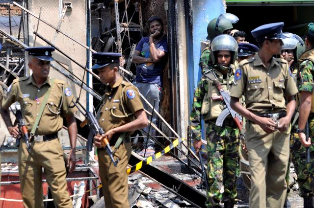 Sri Lanka blocks social media as Buddhist mobs attack mosques