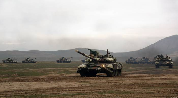 Azerbaijan army starts large-scale exercises