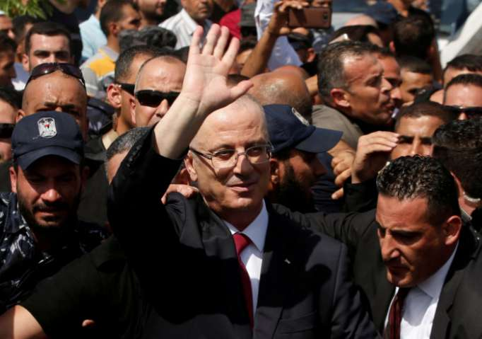 Explosion goes off near Palestinian Prime Minister
